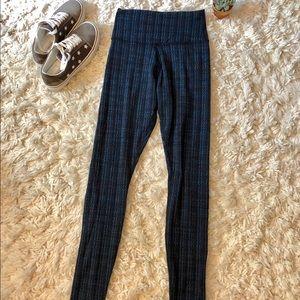 Lululemon💙 Patterned leggings